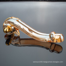 Wholesale High Quality Crystal Glass Dildo Sex Toy for Woman