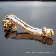 Оптовая высокое качество Кристалл стекло фаллоимитатор секс игрушки для женщины
