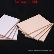 Panneau de MDF en mélamine de haute qualité pour meubles