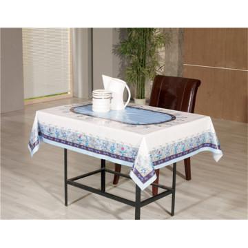 Toalha de mesa transparente impressa PVC clara de 120 * 152cm de novo tudo em um projeto para a casa / partido / casamento