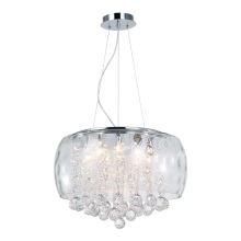 Modernas lámparas colgantes de cristal claro (MD4247-500CL)
