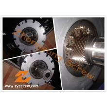 PVC Profile Planetary Screw Barrel Extruder Screw Barrel for PVC PP Pelletizing