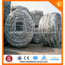 2016 China supplier hot dip galvanized barbed wire