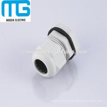 PG19white Flachkabelverschraubungen, Kabelverbinder mit Kabelbereich 13-18mm, Dichtung, CE-Zulassung