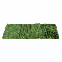 Uv protect plastic hedge artificial leaves privacy screen