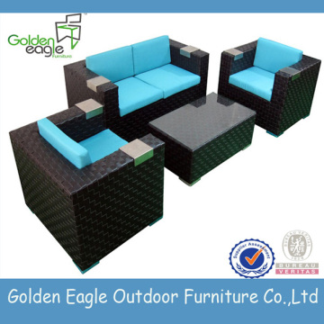 New design PE rattan garden wicker furniture