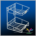 Free standing wire table top sturdy wholesale metal display rack