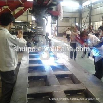 automatic dumper plate robot welding machine/Automatic carriage robot welding machine for dumper