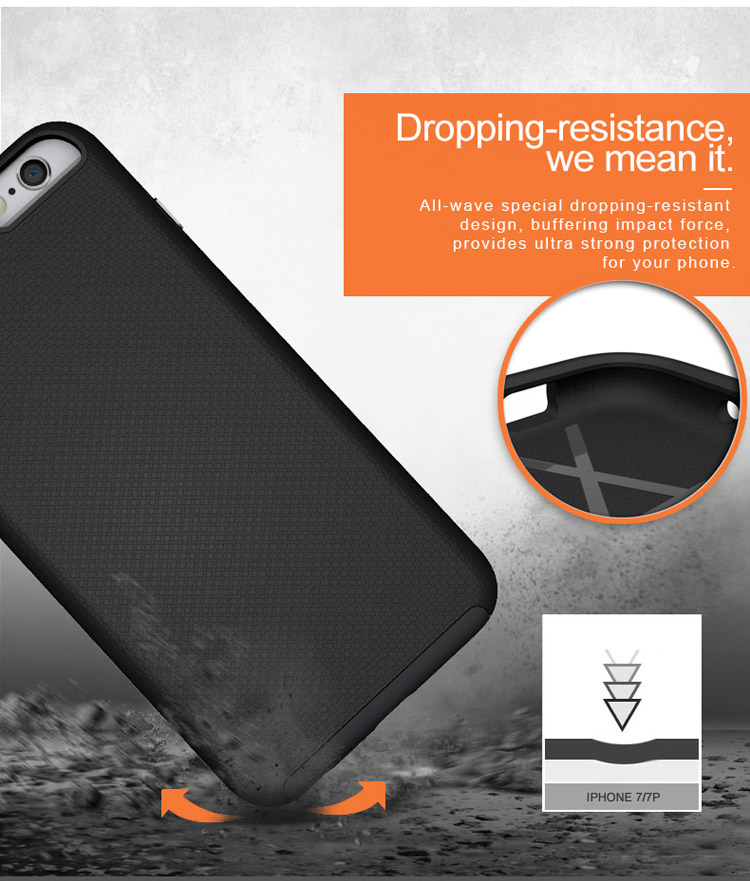 Hybrid Iphone6 Plus Phone Case