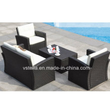 Pool Garden Wicker Patio Outdoor Rattan Sofa Set