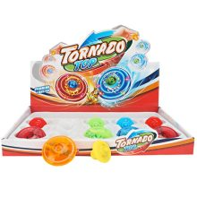 Eductional Sport Toys Tornado Chain Flash Gyro Top