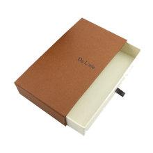 La boîte faite sur commande d'emballage de papier de pantalons d'hommes de luxe vente chaude