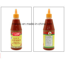Hotseller 500g Sriracha Chili Sauce in der Haustierflasche