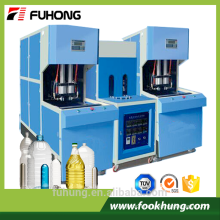 Ningbo Fuhong Ce certificate 2L 5L 10L semi-automatic plastic pet preform blowing molding machine for pet preofrm