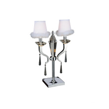 Luxury Silver Stainless Steel Decorative Table Lamp (GT7010-2)