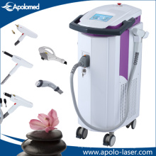 Best Mutifunctional IPL RF +Q Switch ND YAG Laser+E-Light Hair Removal Machine