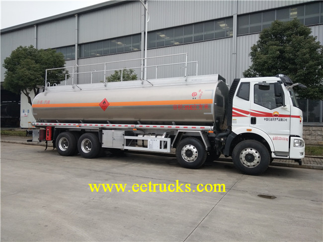 FAW 12 Wheeler 32000L Oil Refueling Trucks