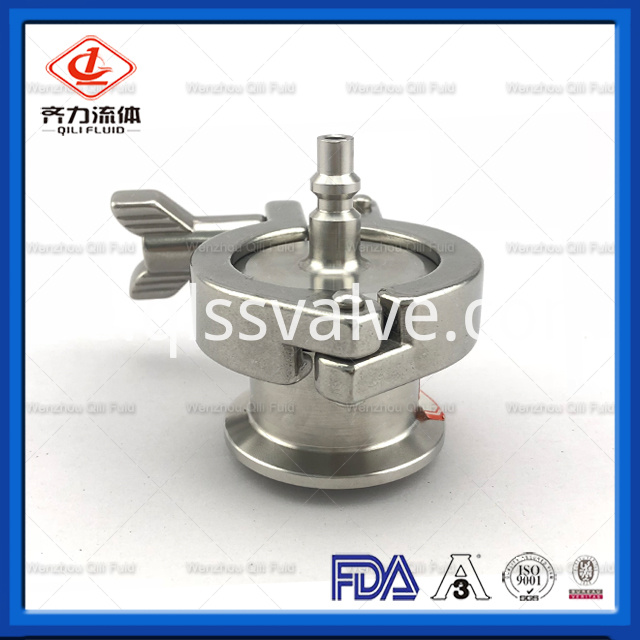 Sanitary Stainless Steel Air Blow Check Valve 2