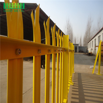 Zinc Plating Fences Metal Type Palisade Fence