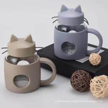 New Hot Mini Cat Cup Creative High Borosilicate Simple Fashion Glass Spot Factory Direct Sales