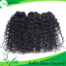 Cheap 100% Malaysian Human Hair Weave Loose Curl
