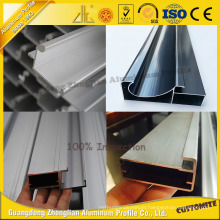 Anodized Aluminum Extrusion for Aluminum Kitchen Cabinet