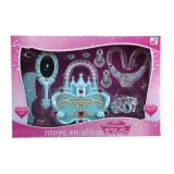 Beautiful girl toys make up toys beauty play set toys