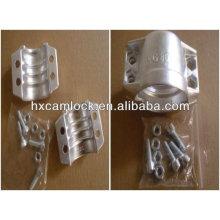 SS316 oder Aluminium Sicherheitsschlauchklemme DIN2817