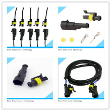 Manufacture of 1 Pin Way Male Female Car Auto Wire Connector