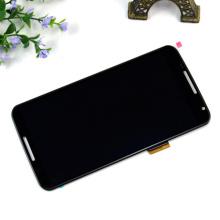 De buena calidad Pantalla LCD de piezas de teléfonos móviles para Google Nexus 6