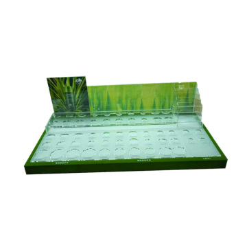 Retail cosmetic displays cosmetic counter display stands