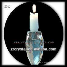 Bougeoir en cristal populaire Z012