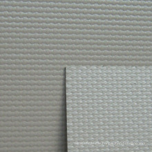 PVC Fiberglass Cloth Curtain Fabric in Grey Color