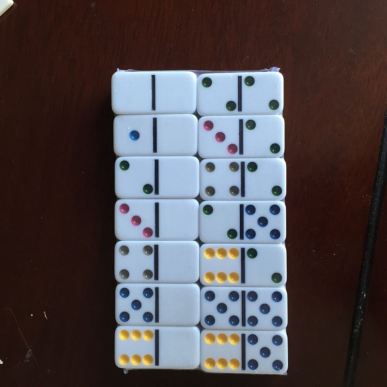 colorful dots  dominoes