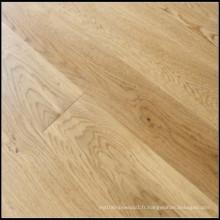 Plancher de bois de chêne machiné par ménage / plancher de bois dur