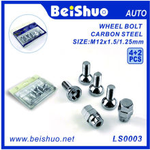 4+2 PCS Torx Carbon Steel Wheel Hub Bolt Set