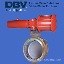 Pneumatic Butt Welding Butterfly Valve