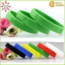 Bande de poignet en silicone pour adultes et enfants personnalisée