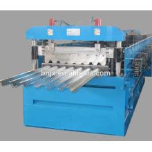 Máquina de formação de rolo de convés de chão, amplamente utilizada em piso plano fabricado na China