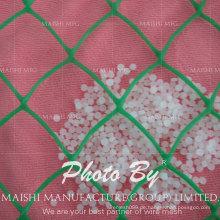PE / PP-Plastik-Ebenen-Filetarbeit, Plastikflachmasche