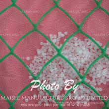 Filetage simple en plastique de PE / pp, maille plate en plastique