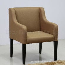 Modern Wooden Frame Upholstery Restaurant Arm Chair (SP-HC473)