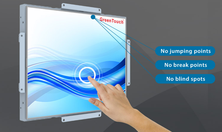 Open Frame for Resistive Touch Monitor