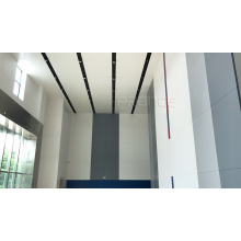 Windproof interior Station metal curtain wall