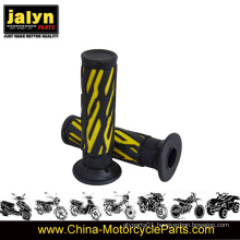 22mm Yellow & Black Cheap Rubber Motorcycle Handlebar Grips