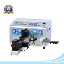 CNC de alta precisão automática de corte de fios e cabo Stripping & Twisting Machine