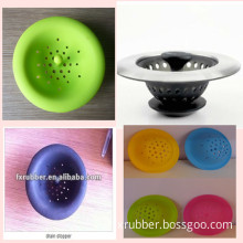 FDA Silicone Sink Strainer for Kitchen & Bathroom