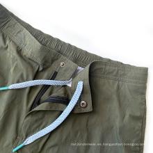 Pantalones cortos deportivos para hombre Entrenamiento Correr Entrenamiento Pantalones cortos de gimnasio
