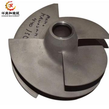 centrifugal pump impeller casting for aluminum steel iron