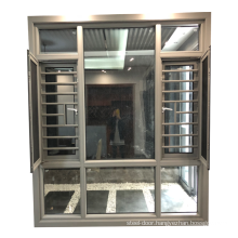 American standard size window glass wholesale new house window 12mm window grill design for safety